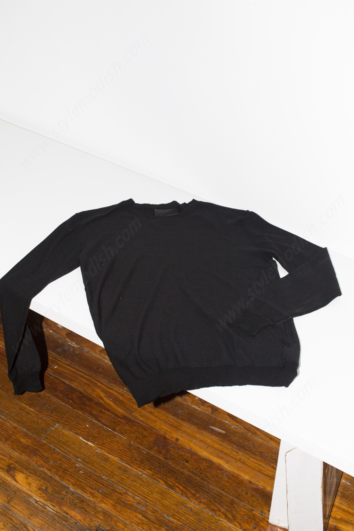 Assembly New York Womens's Assembly York Antwerp Cotton Pullover - Black Tops - -1