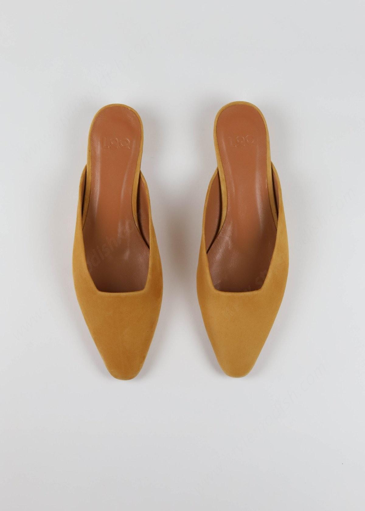 Lady's Loq Carmen Mule - Curry Sneakers - -2