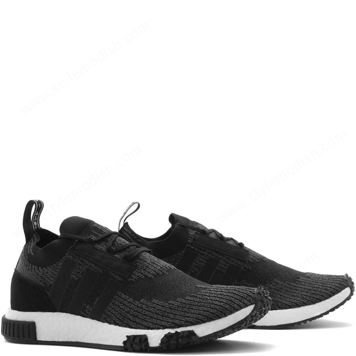 Man's Adidas Nmd Racer Pk Shoe - Core Black - -2