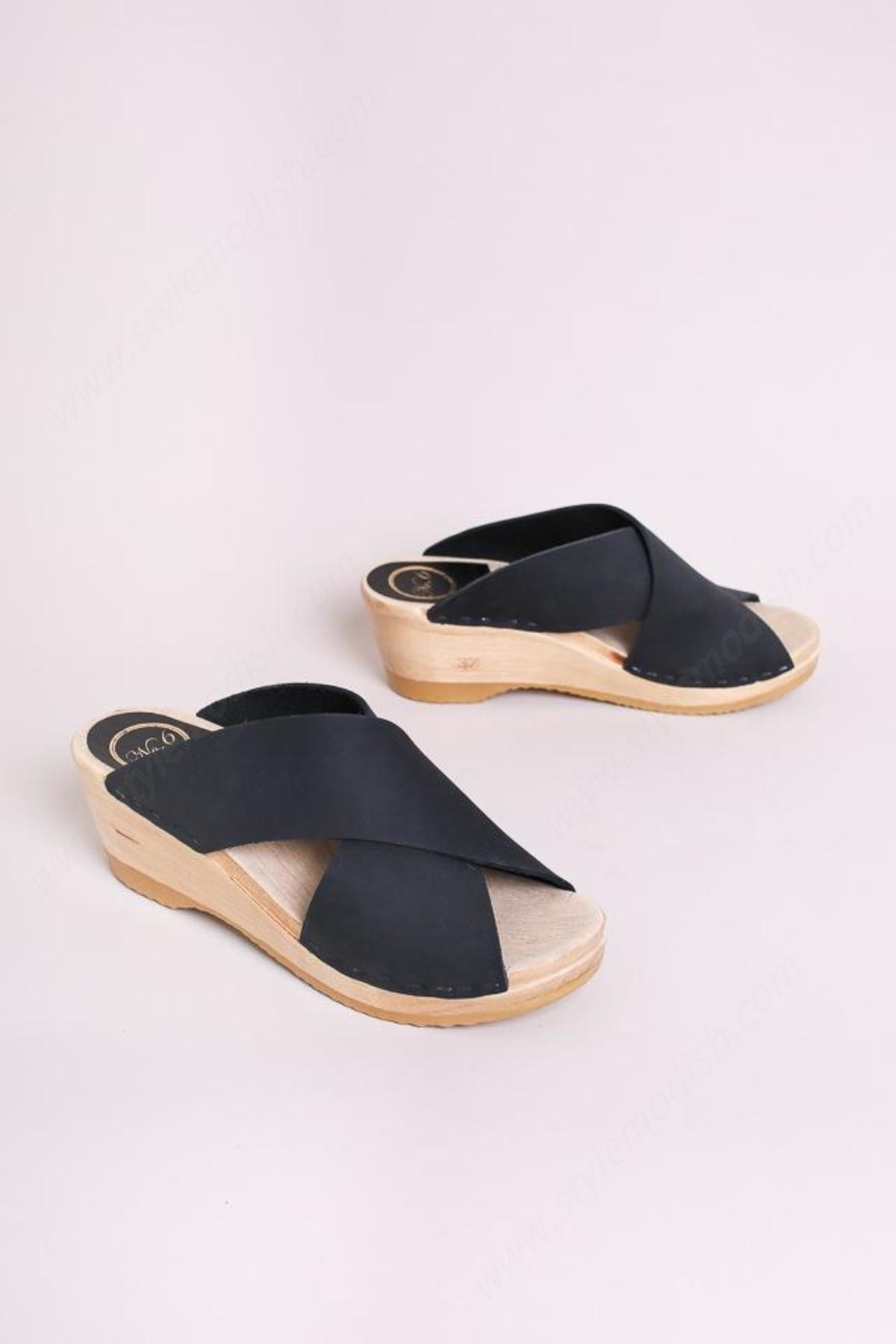 No.6 Lady's No. Frida Wedge Clog - -0