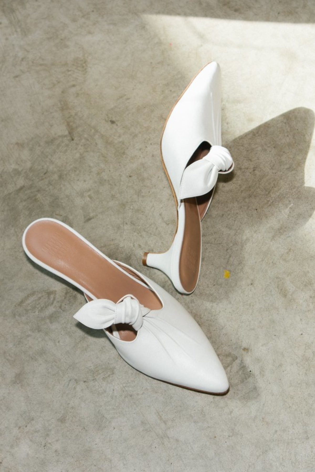 Woman's Maryam Nassir Zadeh Palo Mule - White Shoes - -0