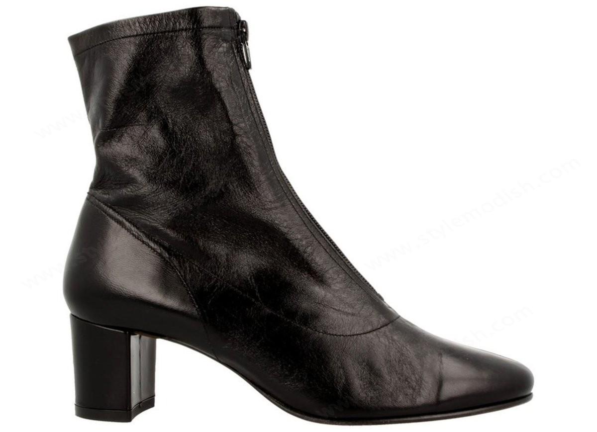 Women's By Far Neva Ankle Boot - Black - -1