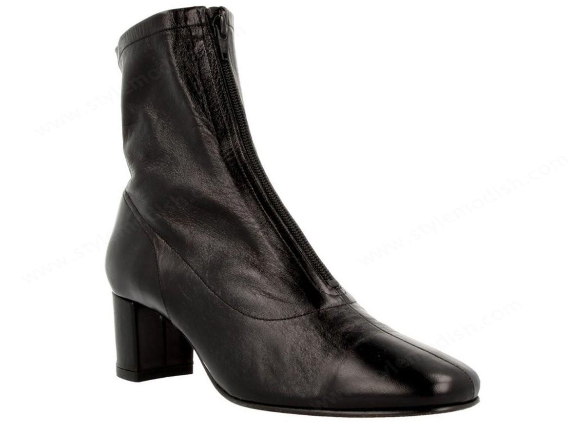 Women's By Far Neva Ankle Boot - Black - -2