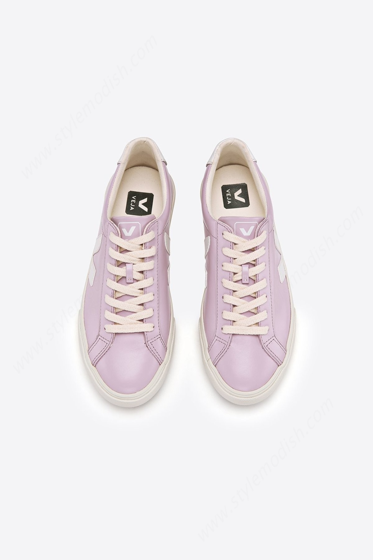Women's Veja Esplar Leather Lilas - Lilac Sneakers - -2