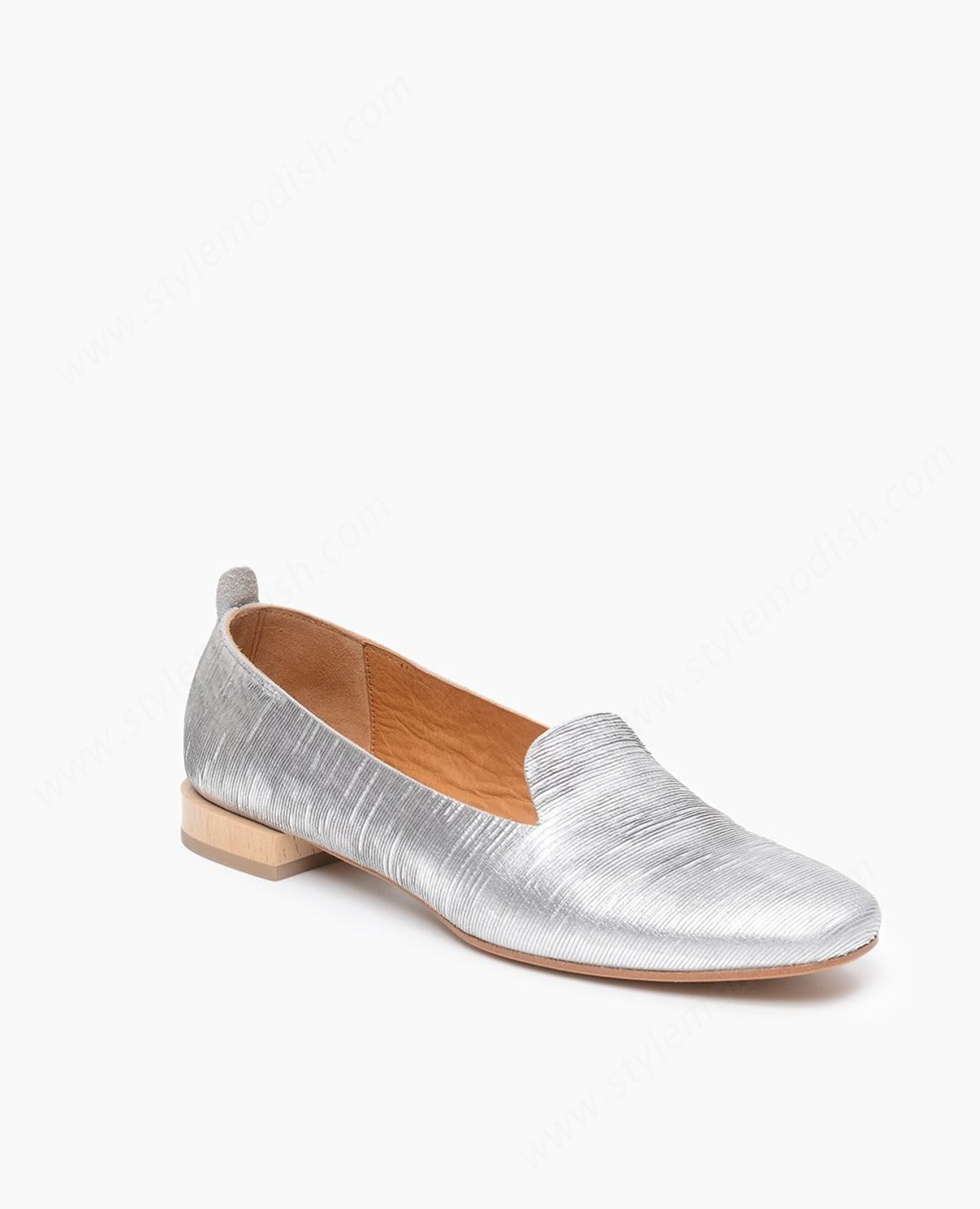 Womens's Coclico Sob Flat - Silver Shoes - -2
