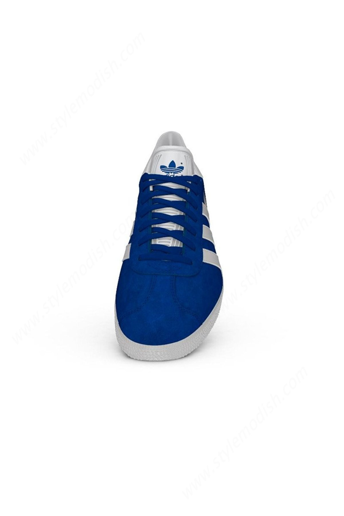 Man's Adidas Originals Gazelle Sneakers - Collegiate Royal/white/gold - -2