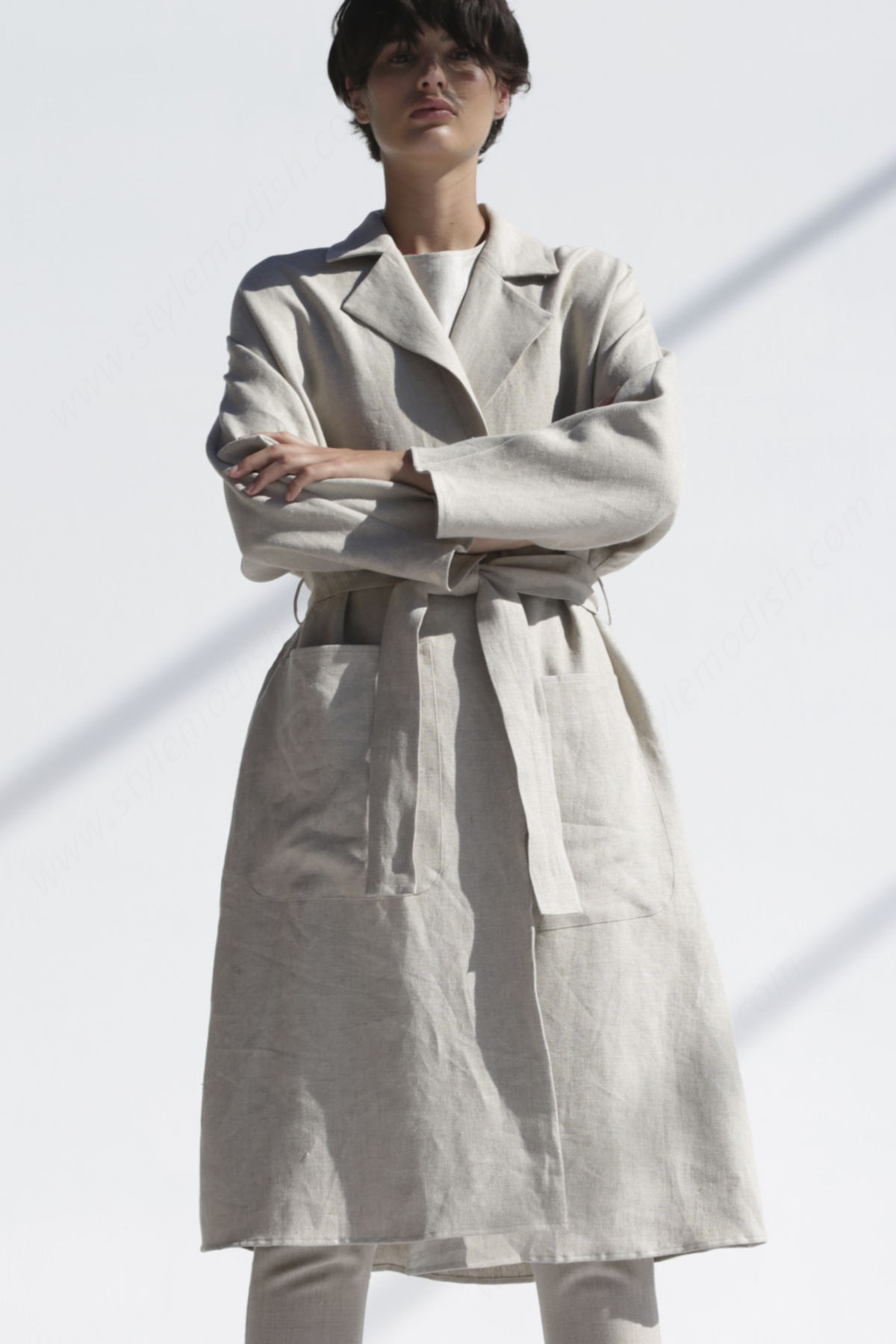 Lady's Shaina Mote Swing Trench Outerwear - Lady's Shaina Mote Swing Trench Outerwear