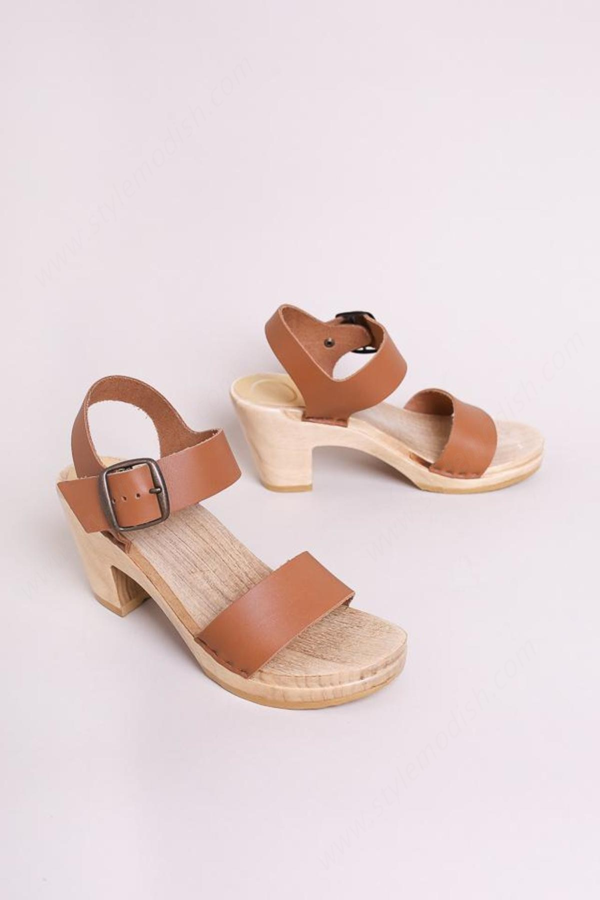 No.6 Women's No. Two Strap Clog Shoes - No.6 Women's No. Two Strap Clog Shoes
