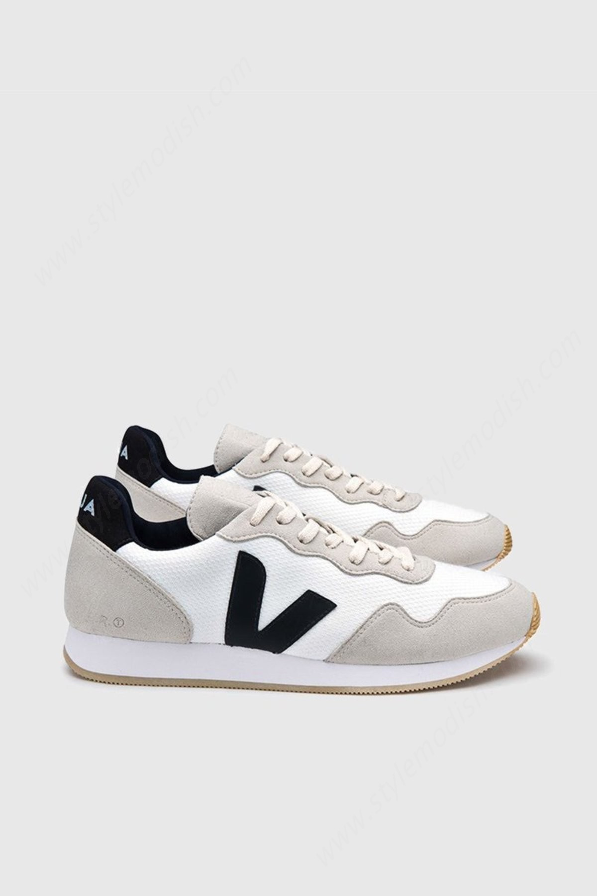 Women's Unisex Veja Sdu Bmesh - White/natural/black Shoe - Women's Unisex Veja Sdu Bmesh - White/natural/black Shoe