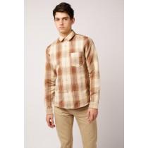A.p.c. Man's A.p.c. Chemise Steve Shirts - Beige