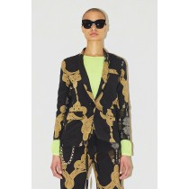 Assembly New York Lady's Assembly York Rope Silk Blazer Outerwear