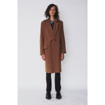 Assembly New York Mens's Assembly York Wool Bruxelles Overcoat