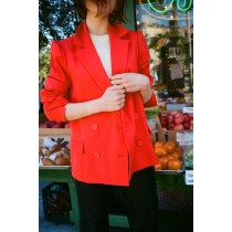 Lady's Just Female Gerda Blazer - Red Outerwear