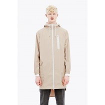 Man's Rains Parka Coat - Sand