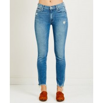 Womens's Mother Denim Rascal Ankle Chew Jean - Dancing The Hula