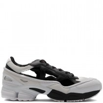Mens's Adidas By Raf Simons Replicant Ozweego - Core Black/cream White Sneaker & Sneaker