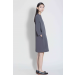 Women's Kaarem Dark Grey Pure / Sleeve Mockneck Dress